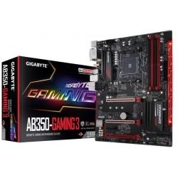 Материнская плата AMD B350 SAM4 ATX GA-AB350-GAMING 3 GIGABYTE