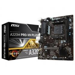 Материнская плата AMD A320 SAM4 MATX A320M PRO-VH PLUS MSI