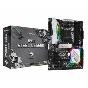 Материнская плата AMD B450 SAM4 ATX B450 STEEL LEGEND ASROCK