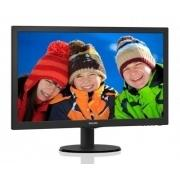 "Монитор PHILIPS 23.6"" 243V5QHSBA  черный"