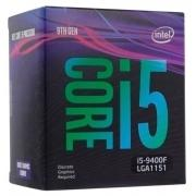 CPU Intel Core i5-9400F Coffee Lake BOX {2.90Ггц, 9МБ, Socket 1151}