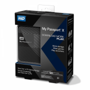 Жесткий диск Western Digital My Passport X 2 TB (WDBCRM0020BBK)