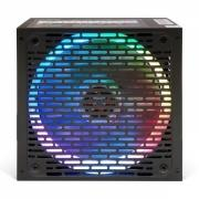 HIPER Блок питания HPB-700RGB (ATX 2.31, 700W, ActivePFC, RGB 140mm fan, Black) BOX