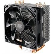 CPU Fan Hyper 212 LED (RR-212L-16PR-R1) <retail, для Intel и AMD,TDP 180 Вт, 4 heat pipe, 4 пин, PWM, 600-1600 об/м, 9-31dBA, 24.9-66.3 CFM, Long Life Sleeve bearing, LED>
