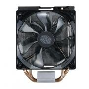 CPU Fan Hyper 212 LED Turbo Black Cover (RR-212TK-16PR-R1), 600 - 1600 RPM, 150W, Red LED fan, Full Socket Support
