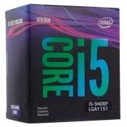 CPU Intel Core i5-9400F (2.9GHz/9MB/6 cores) LGA1151 BOX, TDP 65W, max 128Gb DDR4-2666, BX80684I59400FSRF6M