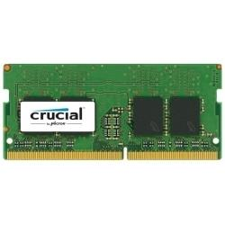 Crucial by Micron  DDR4   4GB 2400MHz SODIMM  (PC4-19200) CL17 DRx8 1.2V (Retail)