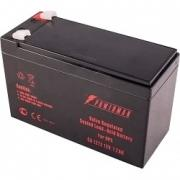 Battery POWERMAN Battery CA1272, voltage 12V, capacity 7Ah, max. discharge current 105A, max. charge current 2.1A, lead-acid typ