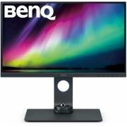"МОНИТОР 27"" BenQ SW270C Gray с поворотом экрана (IPS, 2560x1440, 5 ms, 178°/178°, 300 cd/m, 20M:1, +2xHDMI 2.0, +Display"