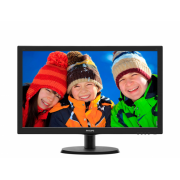 "Монитор Philips 223V5LSB (00/01) 21.5"", черный"