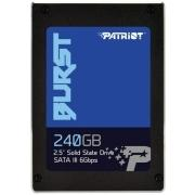 "SSD жесткий диск SATA2.5"" 240GB BURST PBU240GS25SSDR PATRIOT"