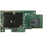 Intel Integrated RAID Module RMS3JC080, SAS-3. 12-Gbit/s 8 int ports, mezzanine card with I/O Controller (IOC) LSI3008, entry-le